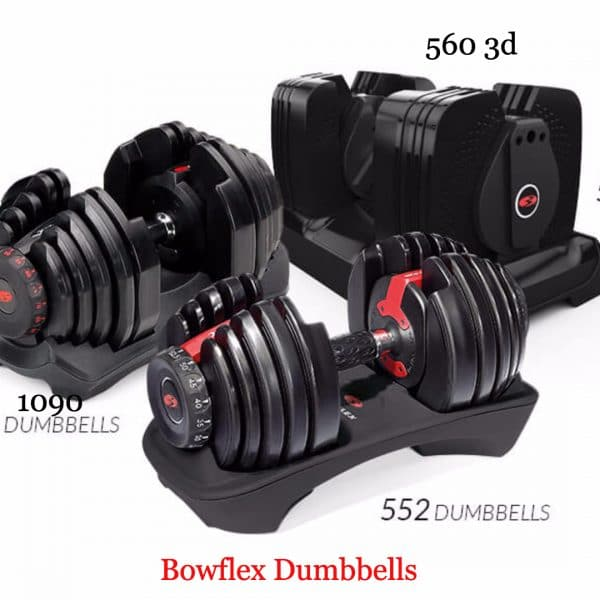 bowflex dumbbells comparison