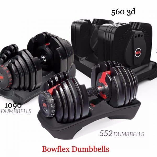 bowflex dumbbells comparison