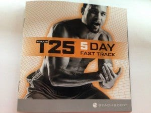 T25 5 Day Fast Track Nurition Guide