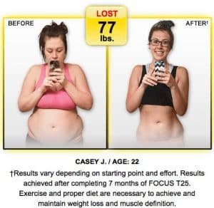 Focus T25 Review Experience Shaun T's Fat Burning 25 ...