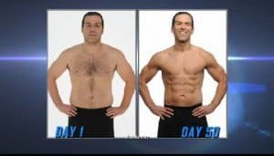 guy results for shaun t's t25