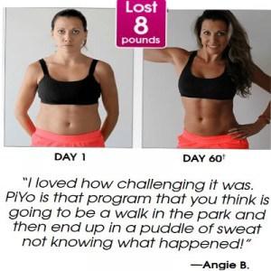angieb piyo weight loss