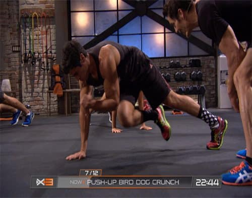 p90x3 bird dog move