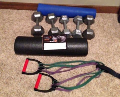 p90x3 equipment