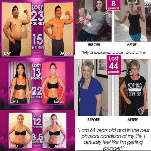 piyo weight loss results