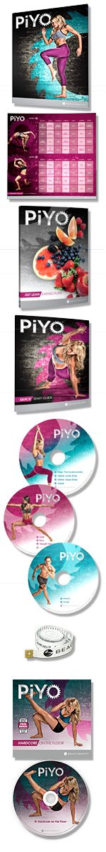 PiYo Package Contents