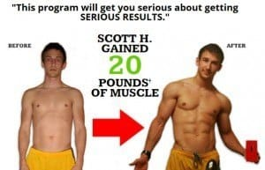 Scott's Body Beast Results 20lbs of muscle