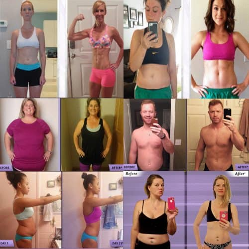 21 day fix weight loss results
