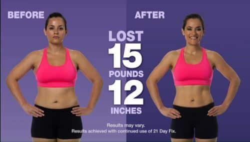 21dayfix challenge pack before and after