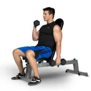 Cap barbell adjustable bench review