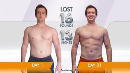 guy testimonial loss 16lbs 13 inches
