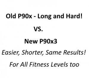 old p90x vs new p90x3