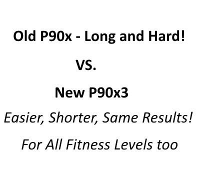 old p90x vs new p90x3