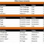 P90x3 Workout Schedule For Lean,Classic and Mass