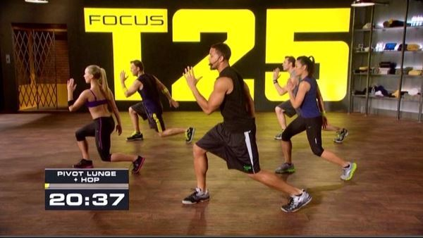 What kind of workout is t25