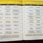 Master Hammer And Chisel Calendar
