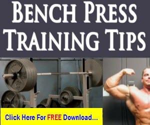 Bench Press More At Home