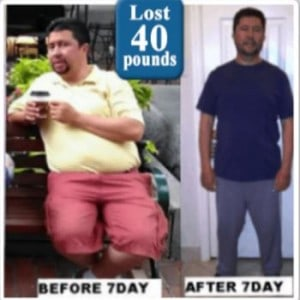 mohammed results lost 40lbs