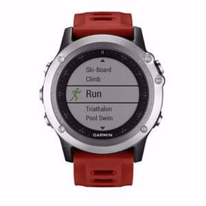 Garmin Fenix 3 run mode