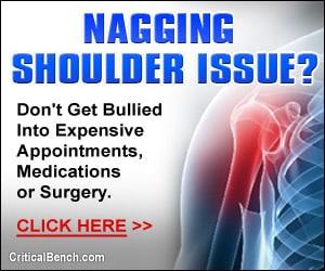 shoulder injury solution