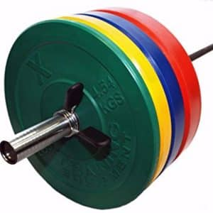 xtraining colored olympic weights