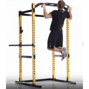 Chin ups on a Power Rack