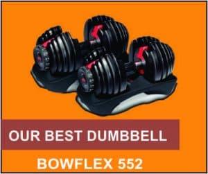 Bowflex adjustable dumbbell set