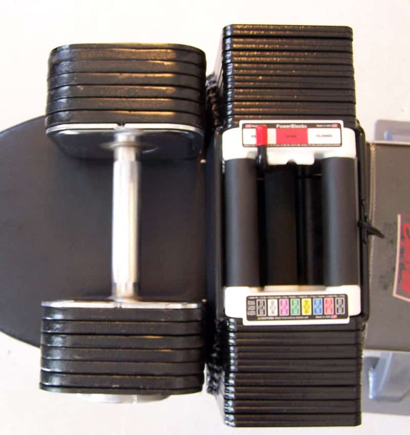 Ironmaster Adjustable Dumbbells Used: Ironmaster Vs PowerBlock: Which Is The Best Dumbbell For