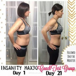 Girls results from Insanity Max 30