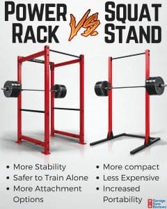 Comparing a Power Rack to a Squat Rack
