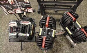Both PowerBlocks and Bowflex Dumbbells