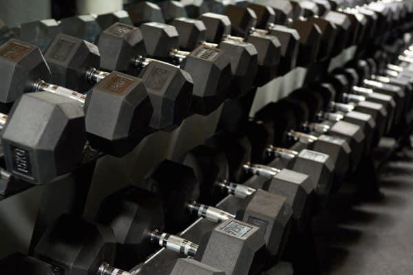 Rep Fitness Dumbbell Rack