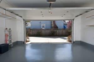 garage home gym space