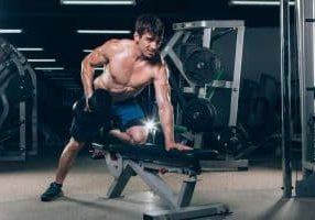 weight bench exercies
